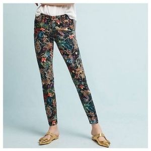 Anthropologie Pilcro mid-rise skinny ankle jeans